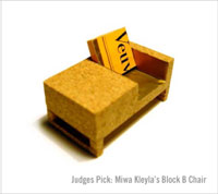 Miwa Kleyla's Block B Chair